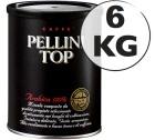 Café moulu Pellini Top 100 % Arabica 6 kg