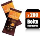 200 Monbana Amandes cacaotées goût caramel  (Boîte distributrice) - Monbana