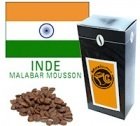 Caf� en grains Inde Malabar Mousson - 125 g