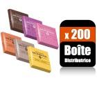 200 napolitians 6 saveurs gamme excellence (Boite distributrice) Monbana