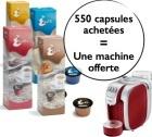 55 boîtes de Capsules Caffitaly = une Machine à Capsules Caffitaly Murex Offerte !