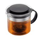 Théière BISTRO NOUVEAU Noire avec filtre en acrylique - 1L - Bodum