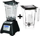 Blender professionnelle Blendtec EZ600 ave 2 Jarres