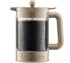 Cafeti�re � piston Bodum Bean Color beige pour caf� glac� 150cl