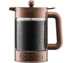 Cafetière à piston Bodum Bean Color marron pour café glacé 150cl