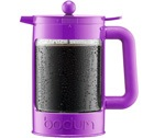 Cafeti�re � piston Bodum Bean violette pour caf� glac� 150cl