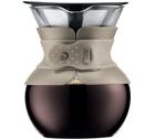 Cafetière filtre Bodum Pour Over Color beige - 4 tasses