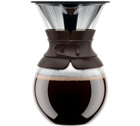 Cafetière filtre Bodum Pour Over Color marron - 8 tasses