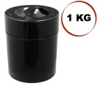 Boite conservatrice avec vide d'air Tightvac - 1kg/3.8L noire