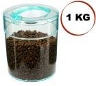 Boite conservatrice avec vide d'air Tightvac - 1kg/3.8L transparente