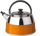 Bouilloire manuelle en inox orange BergHOFF Virgo 2,5L