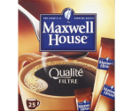 Maxwell House Qualité Filtre 25 sticks