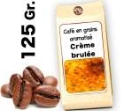 Café grain aromatisé Crème Brulée - 125g