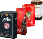 Pack Italien Arabica/Robusta (Exclusivité MaxiCoffee) : 4 cafés en grains x 250g