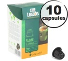 Capsules Subtil x10 Caf� Li�geois compatibles Nespresso