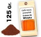 Café moulu aromatisé Crème de Whisky - 125g