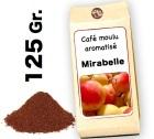 Café moulu aromatisé Mirabelle - 125g