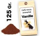 Café moulu aromatisé   Vanille - 125g