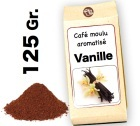 Caf� moulu aromatis�   Vanille - 125g
