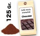 Café moulu aromatisé   Chocolat - 125g