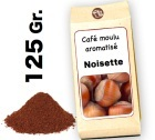Caf� moulu aromatis�     Noisette  d'Hawa� - 125g