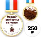 Café moulu du champion de France Torréfacteur 2011 - 250 gr - Sylvain Caron