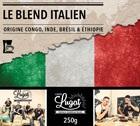 Caf� moulu pour cafeti�re filtre : Le Blend Italien (M�lange Italien) - 250g - Caf�s Lugat