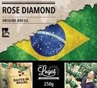 Café moulu pour cafetière filtre : Brésil - Rose Diamond - 250g - Cafés Lugat