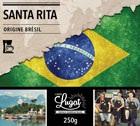 Café moulu pour cafetière filtre : Brésil - Santa Rita - 250g - Cafés Lugat