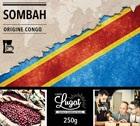 Café moulu pour cafetière filtre : Congo - Sombah - 250g - Cafés Lugat