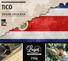 Caf� moulu pour cafeti�re filtre : Costa Rica - Tico - 250g - Caf�s Lugat