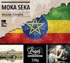 Café moulu pour cafetière filtre : Ethiopie - Moka Seka - 250g - Cafés Lugat