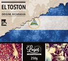 Café moulu pour cafetière filtre : Nicaragua - El Toston - 250g - Cafés Lugat