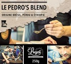 Café moulu pour cafetière filtre : Le Pedro's Blend (Mélange Gourmand) - 250g - Cafés Lugat