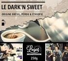 Caf� moulu pour cafeti�re � piston : Le Dark'n Sweet (M�lange Gourmand) - 250g - Caf�s Lugat