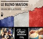 Café moulu pour cafetière à piston : Le Blend Maison (Mélange Maison) - 250g - Cafés Lugat