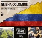 Café moulu pour cafetière à piston : Colombie - Geisha - 125g - Cafés Lugat