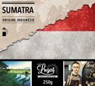 Café moulu pour cafetière à piston : Indonésie - Sumatra - 250g - Cafés Lugat