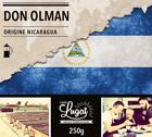 Café en moulu pour cafetière piston : Nicaragua - Don Olman - 250g - Cafés Lugat