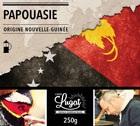 Café moulu pour cafetière à piston : Nouvelle-Guinée - Papouasie - 250g - Cafés Lugat