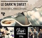 Café en grains : Le Dark'n Sweet (Mélange Gourmand) - 250g - Cafés Lugat
