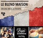 Caf� en grains : Le Blend Maison (M�lange Maison) - 1Kg - Caf�s Lugat