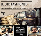 Café en grains : Le Old Fashioned (Mélange traditionnel d'antan) - 250g - Cafés Lugat