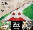 Café en grains : Burundi - Izuba - Torréfaction Filtre - 1Kg - Cafés Lugat