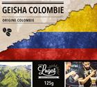 Café en grains : Colombie - Geisha - Torréfaction Filtre - 125g - Cafés Lugat