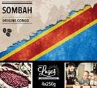 Café en grains : Congo - Sombah - 1Kg - Cafés Lugat