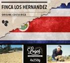 Café en grains : Costa Rica - Finca Los Hernandez -1Kg - Cafés Lugat