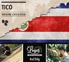 Caf� en grains : Costa Rica - Tico - 1Kg - Caf�s Lugat