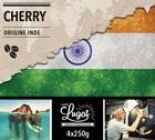 Café en grains : Inde - Cherry - 1Kg - Cafés Lugat
