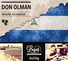 Café en grains : Nicaragua - Don Olman - 1Kg - Cafés Lugat